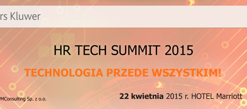 HR TECH SUMMIT 2015